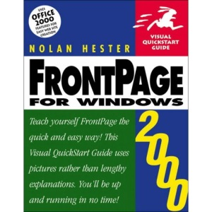 FrontPage 2000 for Windows (Visual QuickStart Guides)