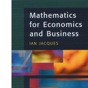 Mathematics for Economics and Business, 3rd Ed.