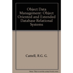 Object Data Management: Object Oriented and Extended Database Relational Systems
