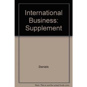 International Business: Supplement