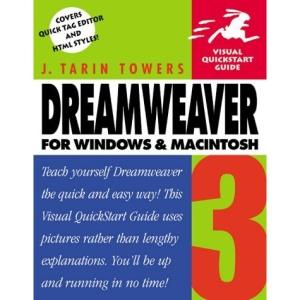 Dreamweaver 3 for Windows and Macintosh (Visual QuickStart Guides)