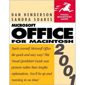 Microsoft Office 2001 for Macintosh (Visual QuickStart Guides)