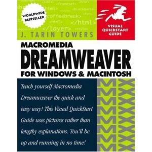 Macromedia Dreamweaver X (Visual QuickStart Guides)