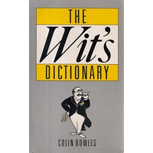 The Wit's Dictionary