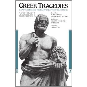 Greek Tragedies: v.1: Selections: Vol 1