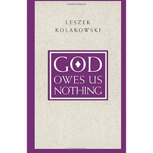 God Owes Us Nothing: Brief Remarks on Pascal's Religion and on the Spirit of Jansenism