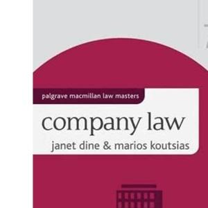 Company Law (Palgrave Macmillan Law Masters)