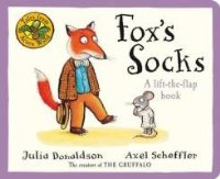 Tales From Acorn Wood: Fox's Socks: A lift-the flap book