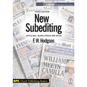 New Subediting: For Quark Users (Quark Publishing System)