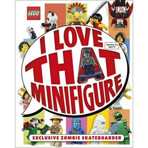 LEGO® I Love That Minifigure: With Exclusive Zombie Skateboarder Minifigure