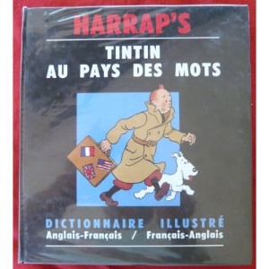 Tintin Illustrated Dictionary: English-French, French-English