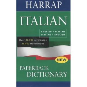 Harrap Italian Paperback Dictionary