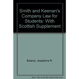 Smith and Keenan's Company Law for Students: With Scottish Supplement