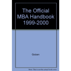 The Official MBA Handbook 1999-2000