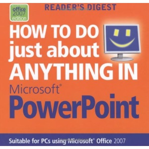 How to Do Anything Powerpoint Vista (Readers Digest)