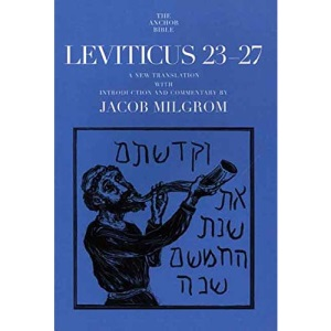 Leviticus 23-27 (Anchor Bible Commentaries)