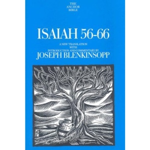 Isaiah 56-66 (Anchor Bible Commentaries)