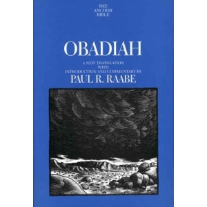 Obadiah (Anchor Bible Commentaries)
