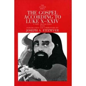 The Gospel According to Luke X-XXIV (Anchor Bible Commentaries)