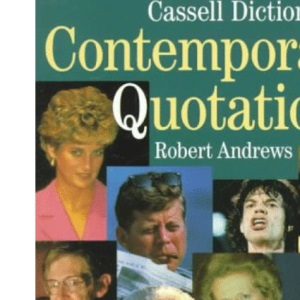 Cassell Dict. Contemporary Quotatio