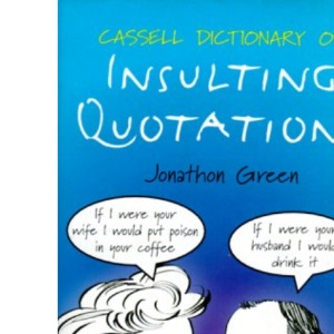 Cassell Dictionary Of Insulting Quo