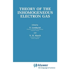 Theory of the Inhomogeneous Electron Gas (Physics of Solids and Liquids)