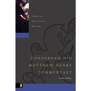 The Zondervan NIV Matthew Henry Commentary: Based on the Broad Oak Edition (Premier)