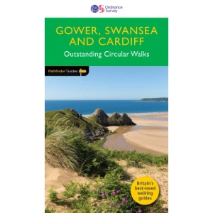 Gower, Swansea and Cardiff Outstanding Circular Walks (Pathfinder Guides): 55