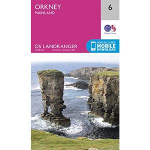 Landranger (6) Orkney Mainland (OS Landranger Map)