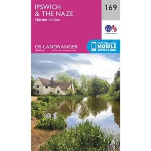 Landranger (169) Ipswich, The Naze & Clacton-on-Sea (OS Landranger Map)