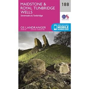 Landranger (188) Maidstone & Royal Tunbridge Wells (OS Landranger Map)