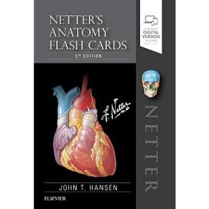 Netter's Anatomy Flash Cards, 5e (Netter Basic Science)