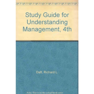 Study Guide to accompany Understanding Management