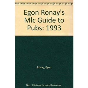 Egon Ronay's Mlc Guide to Pubs: 1993