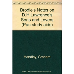 Brodie's Notes on D.H.Lawrence's Sons and Lovers (Pan study aids)