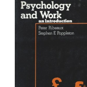 Psychology and Work: An Introduction (Business Management & Administration S.)