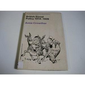 British Social Policy, 1914-39 (Studies in Economic & Social History)