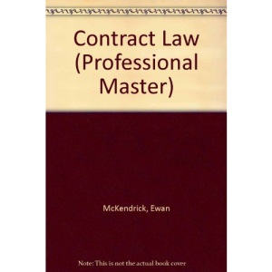 Contract Law (Professional Master)