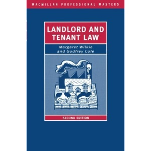 Landlord and Tenant Law (Palgrave Professional Masters)
