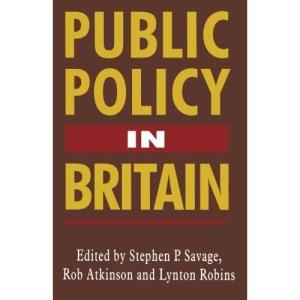 Public Policy in Britain