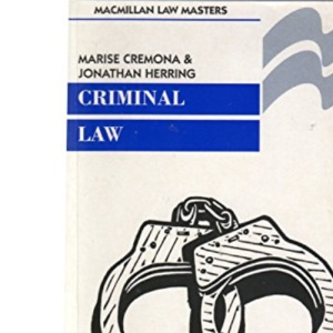 Criminal Law (Palgrave Law Masters)