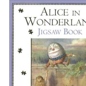 Alice in Wonderland: Jigsaw Book
