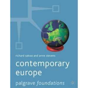 Contemporary Europe (Palgrave Foundations)
