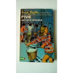 Five Get into Trouble (Knight Books)