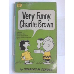 Very Funny, Charlie Brown (Coronet Books)