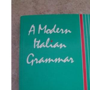 A Modern Italian Grammar