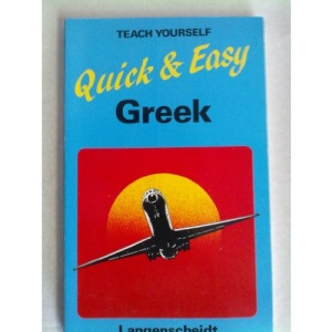 Quick and Easy Greek (Teach Yourself)
