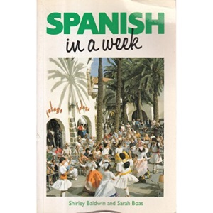 Spanish In A Week BOOK