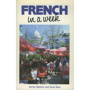 French In A Week BOOK