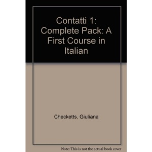 Contatti 1: Complete Pack: A First Course in Italian